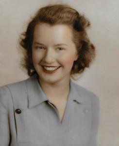 Mary Ann Bensheimer 1945
