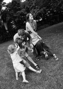 family fun bw