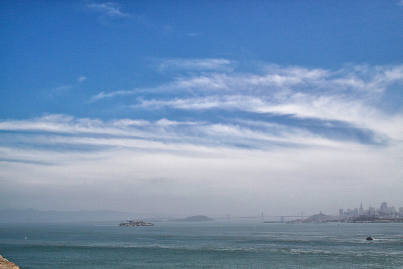 Alcatraz, Bay Bridge, San Francisco Skyline