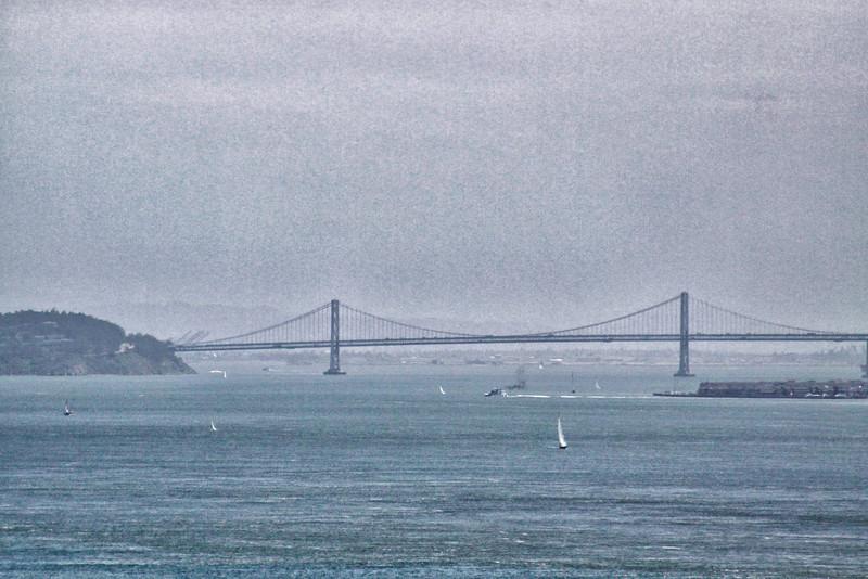 Bay Bridge in the Fog - San Francisco