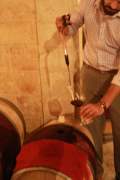 Barrel Tasting - Hall Rutherford