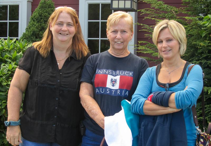 Deb, Helen and Mary Jo