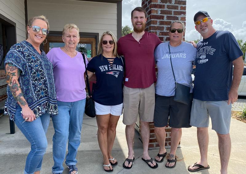Mary Jo's Visit to Jacksonville Beach