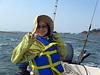Hitomi enjoys the Bay
