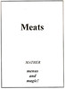 Meats - Title Page