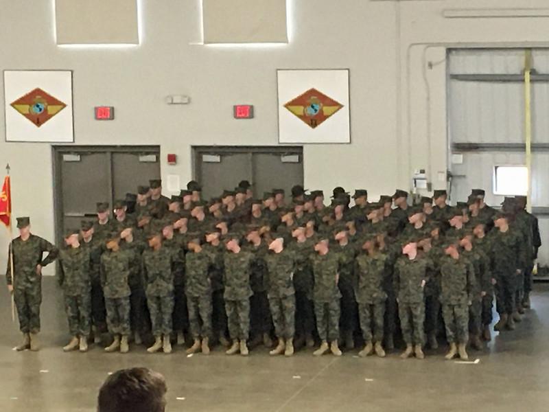 Matt Kicklighter Marine Family Day 01-23-20