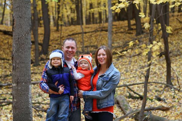 Matt & Nicole Paulson Family Oct 2014