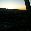 Dinner at sunset at the Stratosphere, totally cool! the picture does not do it justice!!