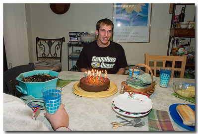 Matt's 19th Birthday