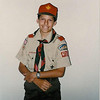 Matt at 14 in the boy scouts.