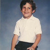 Matthew at 6 years old, in the first grade
