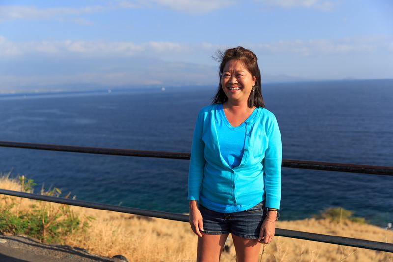 Debbie at Papawai Point