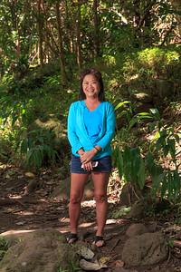 Debbie at Iao Valley