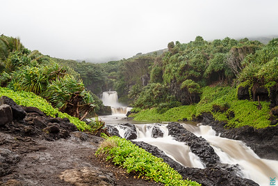 Pools Ohe'o (also called Seven Sacred Pools)
