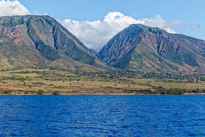Mountains across Lahaina Shore