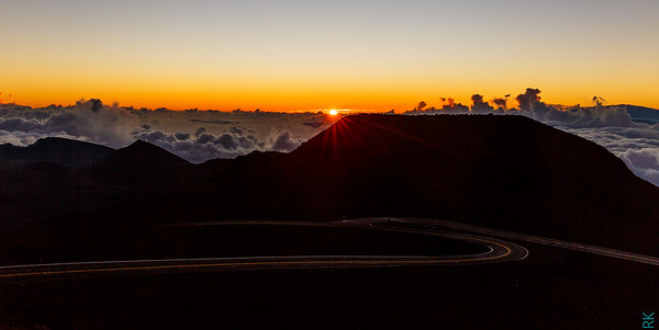 Sun rise at Haleakala