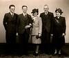 Tom Fisher Benjamin Fisher Edna Henderson Jack Haworth Rhoda Fisher 15th December 1945