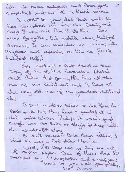 Maureen's letter 3