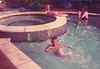 Kieran Sean Terence Pam waingate Lodge pool 1983