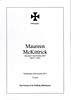 Maureen McKittrick Funeral Order of Service 25th October 2017 001