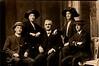 Benjamin Ellison far right with Medlock family