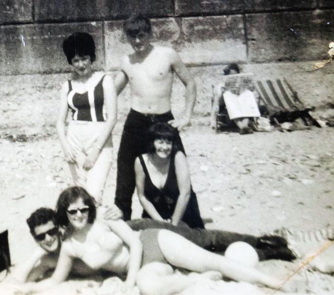 Isle of Man Beach late 1960s