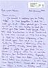 Maureen's letter 1