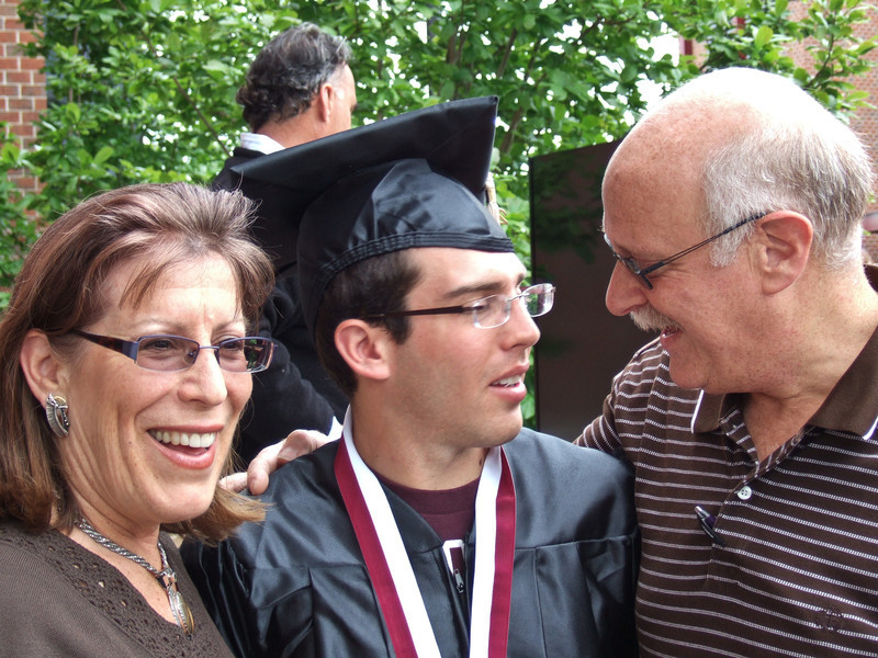 Max Pachner Graduation at U Mass