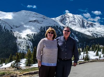 Maxine & Si - Million $ Highway - Colorado. With Barbara, Barry & Celia