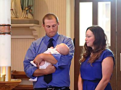 Max's Baptism 2013