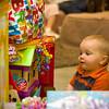 Max got LOT'S of presents.