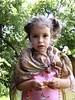Princess Sophia in her silken cape and precious jewels, May 29, 2005