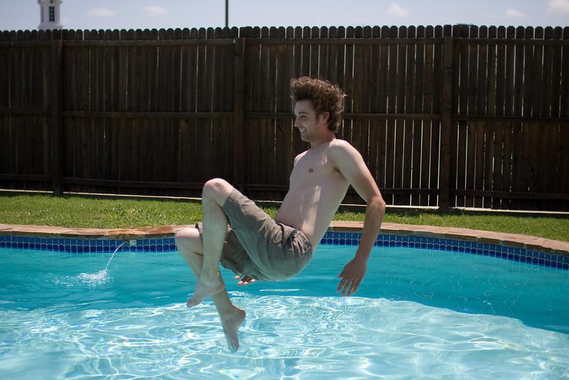 Kenny takes a leap