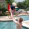 Of course B loved playing with daddy in the water.