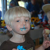 He loves some frosting!