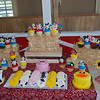 Cute farm dessert table