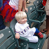 B loved having his own seat!