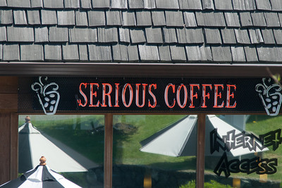 On the ride up to the Butchart gardens I found my kind of establishment.