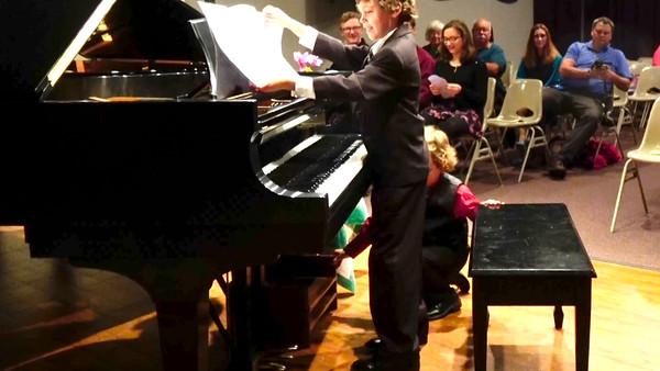 Piano recital, May 10th, 2016