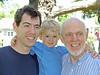 Matt, Tucker, and Pat on Tucker's second birthday