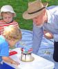 Tucker and Gaffer's birthday cake