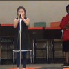 Girl singing Annie song