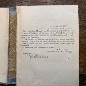 WW1 Handbook Harry Mayer 1918