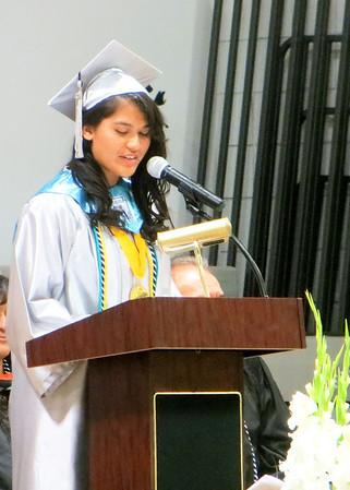 Mayra Ortega HS Graduation