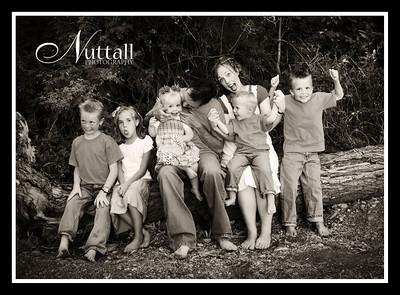 McAllister Family 072bw