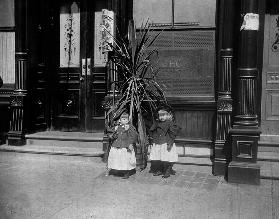 Martha and Ruth McChesney, daughters of Jess Milo McChesney of Honolulu, HI