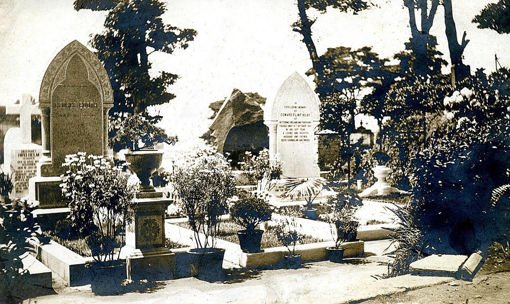 Foreign Settlement Cemetery, Yokohama  Florence's Grave (?)