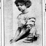 Ruth McChesney, eldest daughter of Jess Milo McChesney who was the older brother of Leroy Edward McChesney Sr.  Ruth lived with Leroy and Emma McChesney for about a year in 1911.  This image was taken from a Hawaiian Newspaper that indicated that she was a society favorite and was about to return to Hawaii from New Jersey.