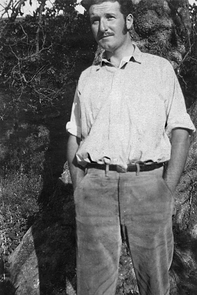 Homer M. McChesney.  I love the 'stashe