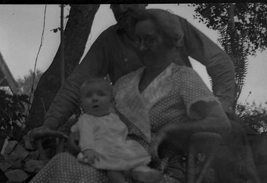 Martha McChesney with Leroy E. and Emma McChesney